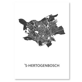 's Hertogenbosch  city map