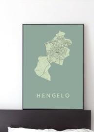 Hengelo city map
