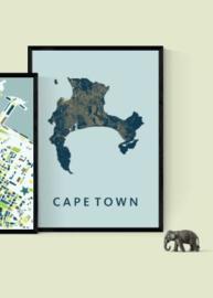 Kaapstad city map