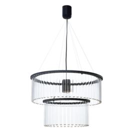 Maria SC Double hanglamp zwart - Pani Jurek
