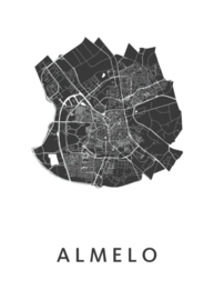Almelo city map
