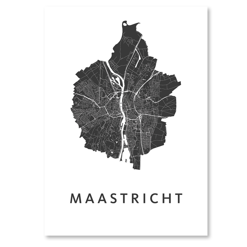 Maastricht  city map