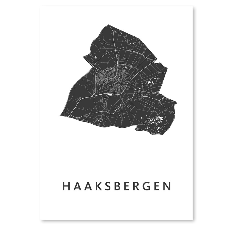 Haaksbergen city map