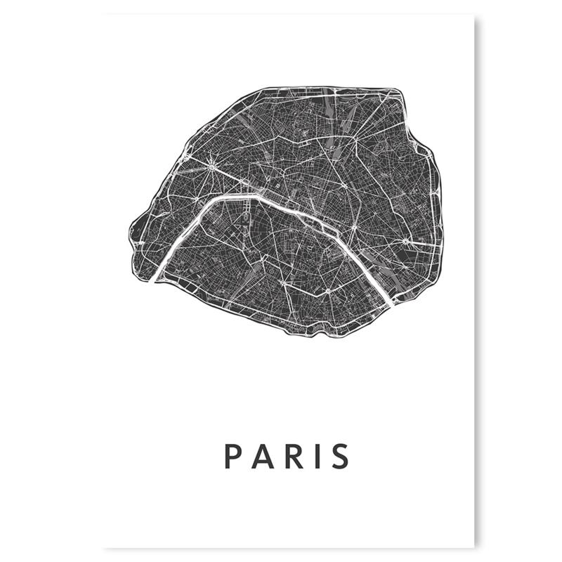 Parijs   city map