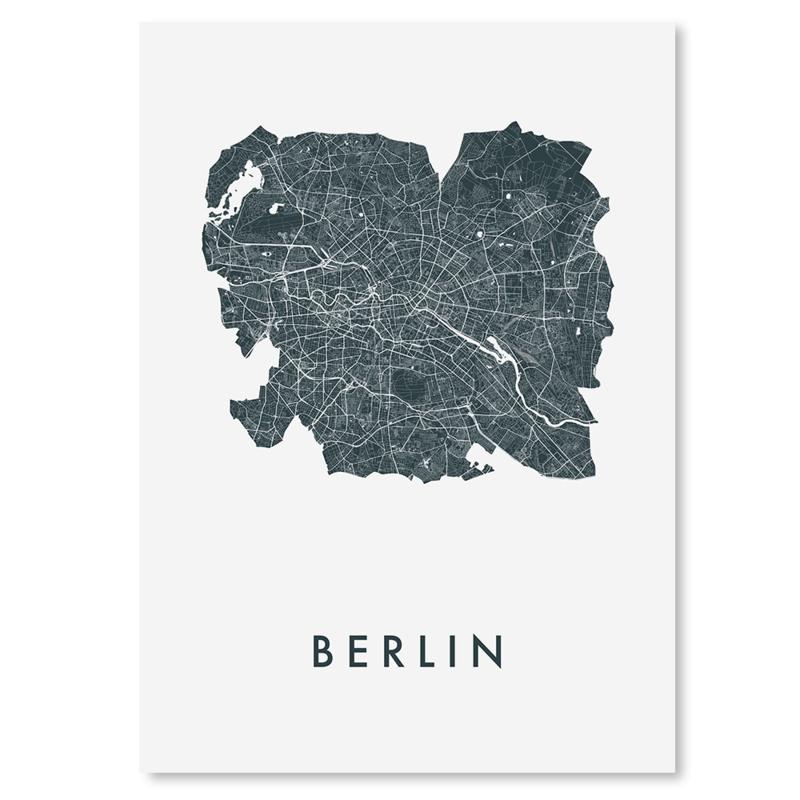 Berlijn city map