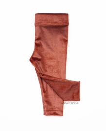 Velvet Rust Legging