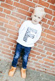 Leopard Letter Sweater