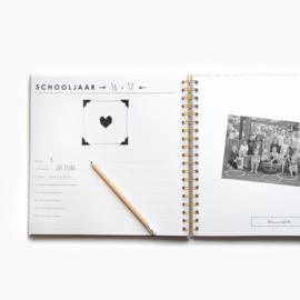 Schoolfotoboek - Ivoor Linnen