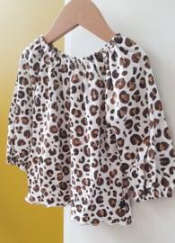 Shirtblouse Brown Panther