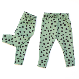 Broekje Dusty Green Dots