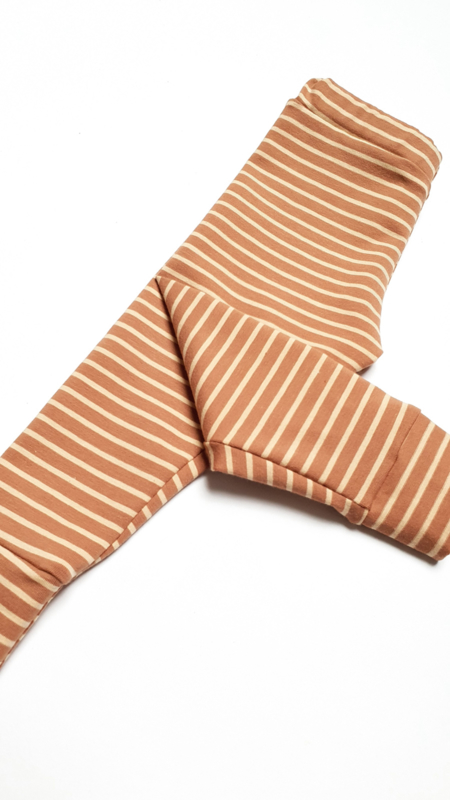 Broekje Striped Toffee