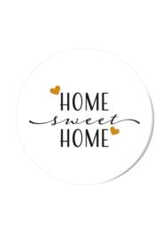 HOME SWEET HOME (per 5 stuks)