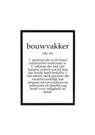 BOUWVAKKER