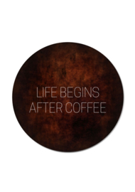 LIFE BEGINS AFTER COFFEE (per 5 stuks)
