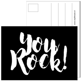 KAART / YOU ROCK! 4 STUKS