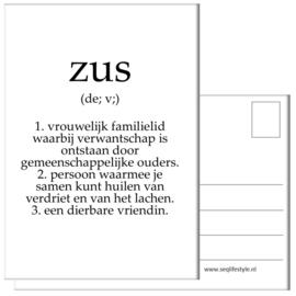 KAART / ZUS 4 STUKS