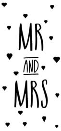MR AND MRS 6 STUKS