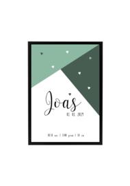 GEBOORTEPOSTER | JOAS