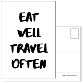 KAART / EAT WELL 4 STUKS