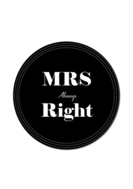 MRS ALWAYS RIGHT (per 5 stuks)