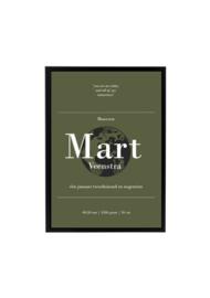 GEBOORTEPOSTER | MART