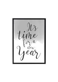 IT'S TIME FOR A NEW YEAR