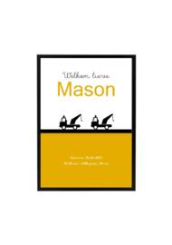 GEBOORTEPOSTER | MASON