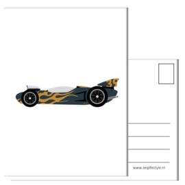 KAART / Raceauto 4 STUKS