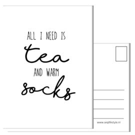 ALL I NEED IS TEA