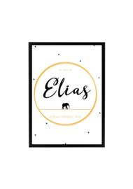 GEBOORTEPOSTER | ELIAS