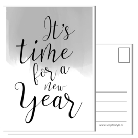 IT'S TIME FOR A NEW YEAR  (4 STUKS)