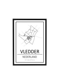 VLEDDER A6 KAART (PER 12 STUKS)