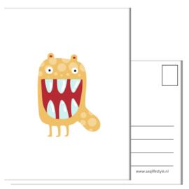 KAART / Monster 4 STUKS