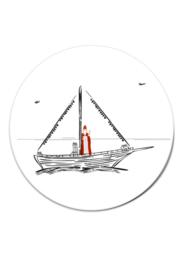 MUURCIRKEL SINT 4 20 CM (3 stuks)