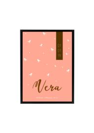 GEBOORTEPOSTER | VERA