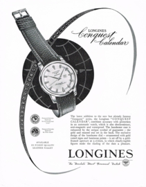 Longines Conquest Calendar