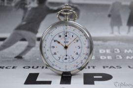 Lip Chronograph Pocket Watch