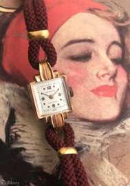 Jaren '40 'Ongedragen' Dames horloges