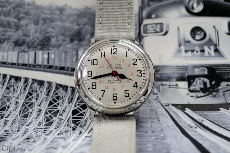 """Bulova Accutron """"Railroad"""""""