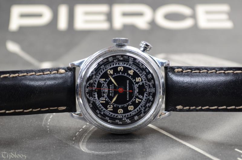 Pierce 'One Button' Chronograaf | Horloges | Tijdloos vof