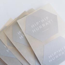Stickers Hip*Hip Hurray! (4)