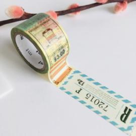 MT fab washi Ticket