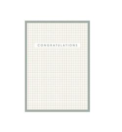 Kaart Congratulations groen