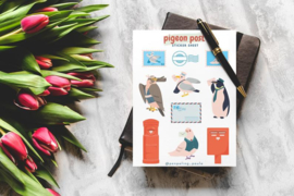 Stickervel Pigeon Post