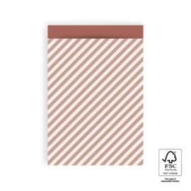 Zakjes L Stripe Diagonal Pink (5)