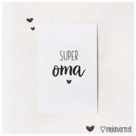 Mini SUPER oma