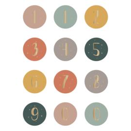Stickers Cijfers (12)