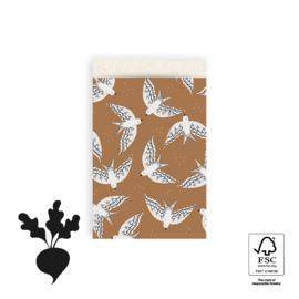 Zakjes M Birds Cognac (10)
