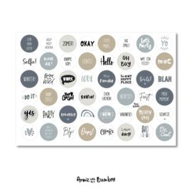 Stickervel Jaarfotoboek III