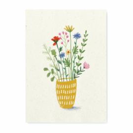 Miniprint Veldboeket A5